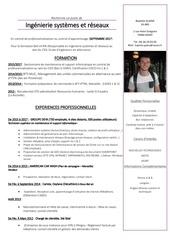 Fichier PDF cv responsable ingenierie systemes et reseaux