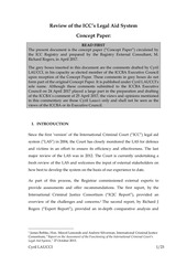 laucci comment concept paper legal aid system review