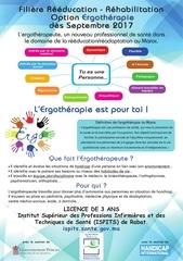 affiche ergotherapie