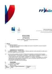Fichier PDF avis de course cnmarcko