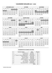 calendrier scolaire 2017 2018 fr