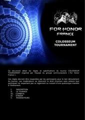 colosseum tournament rules