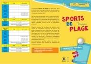 de pliant sports de plage 0106