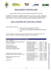 reglement particulier cc levens 2017 avec n 2 1