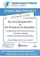 stages multisports EtE 2017