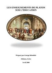 Fichier PDF les enseignements de platon sur l education 1