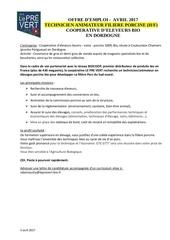 offres sca le pre vert 3 offres en cdi