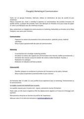 Fichier PDF poste charge de marketing et communication
