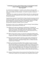 communique de presse sur la greve civique de buenaventura