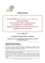 formation approche equides juillet 2017 mc fave