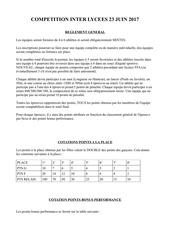 Fichier PDF reglement pour facebook