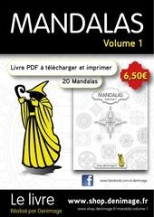 Fichier PDF flyer mandalas volume 1