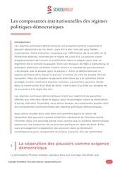 Fichier PDF composantes institutionnelles regimes politiques