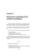 expression numerique