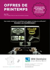 irm dentaire produit numerique 2017