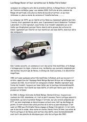 la saga des range rover