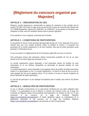 reglement concours fb maj