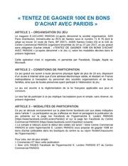 Fichier PDF reglement jeu facebook hyper galerie soldes