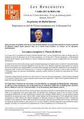 etr invitation michel barnier 7 juillet 2017