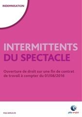 Fichier PDF intermittents ouverture de droit sur fin de contrat