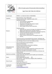 Fichier PDF offre poste salarie e ligue ouest fcd 2017 v 13 juin 17