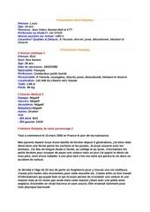 presentation gendarme