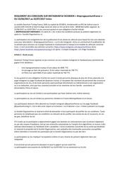 Fichier PDF reglement jeu concours quantum france