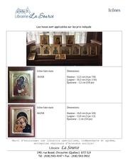 tableau icones