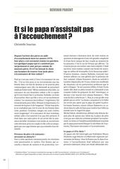 Fichier PDF accouchement et les papas