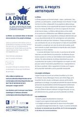Fichier PDF la dinee du parc appel projets artistiques 2017