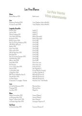 carte des vins la fee verte vins etonnants juillet 2017