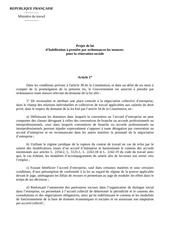 projet loi travail ordonnances