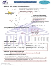 fiche 15 logarithme