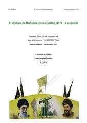 travail de se minaire hezbollah le o ruffieux