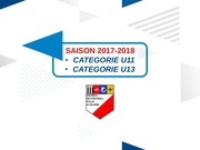 pratique u11 u13 saison 2017 2018