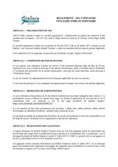 Fichier PDF reglement jeu