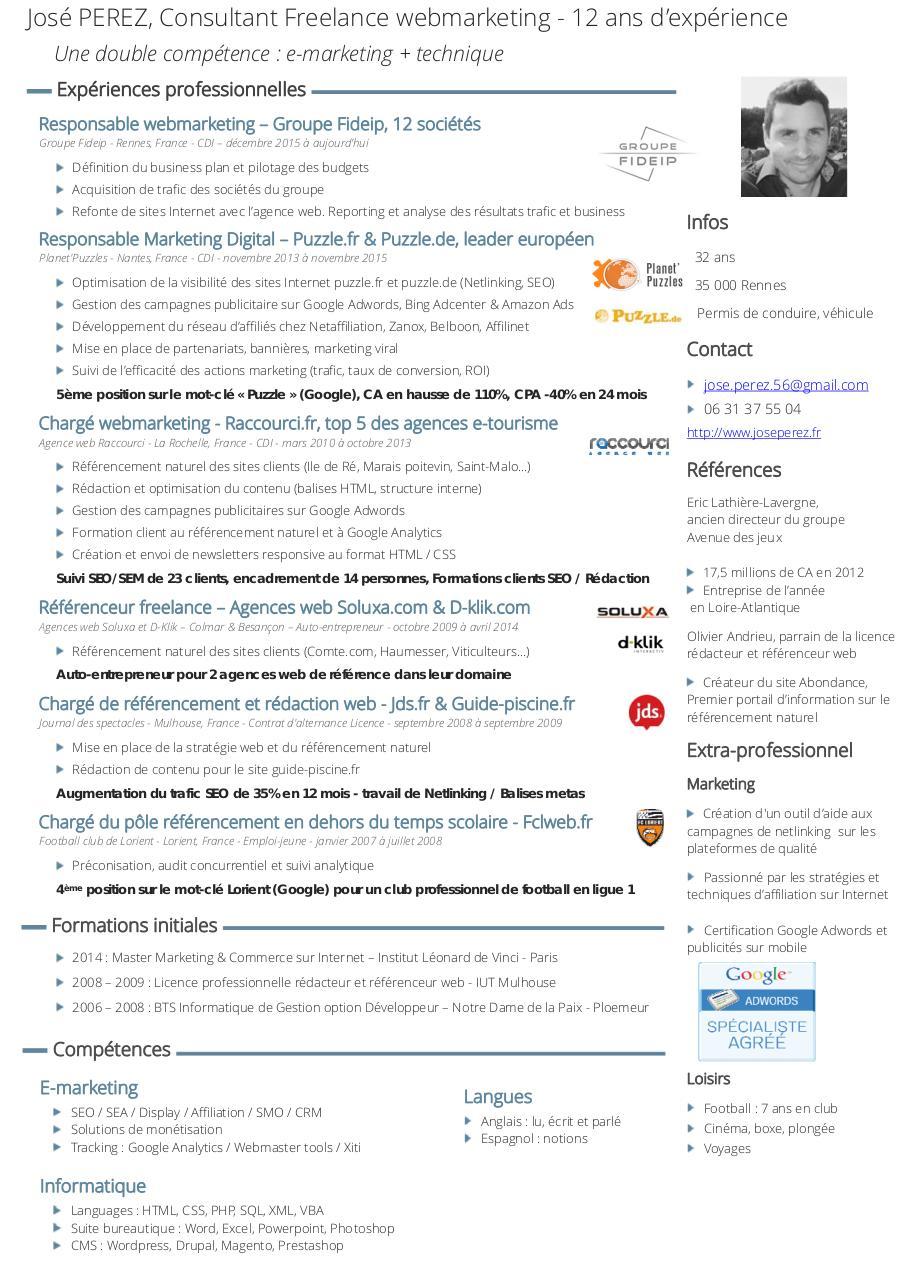 cv jose perez doc - cv jose-perez pdf