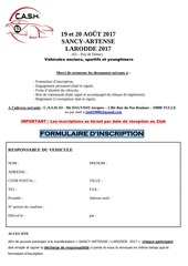 formulaire d inscription larodde sancy artense 2017