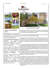 newsletter 1 bacchus sme fr