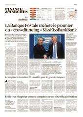 2016 juillet la banque postale rachete kisskissbankbank