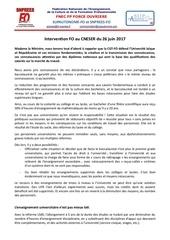 cneser declaration fo 26juin17