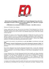 declaration ceser 27 juin 2017 metiers en tension