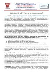 communique propositions cpu 1e juillet 2017