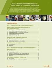 guide et outil de verification energetique