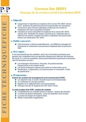 ft 2017 normes iso 14001 passage a la version 2015