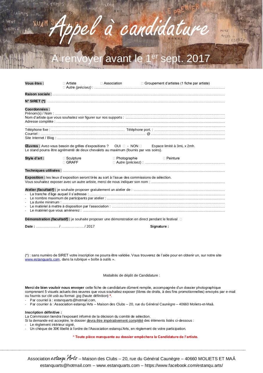 Aperçu du document Appel à Candidature.pdf - page 1/1