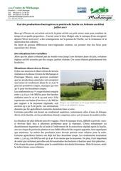 communique production fourragere juillet 2017