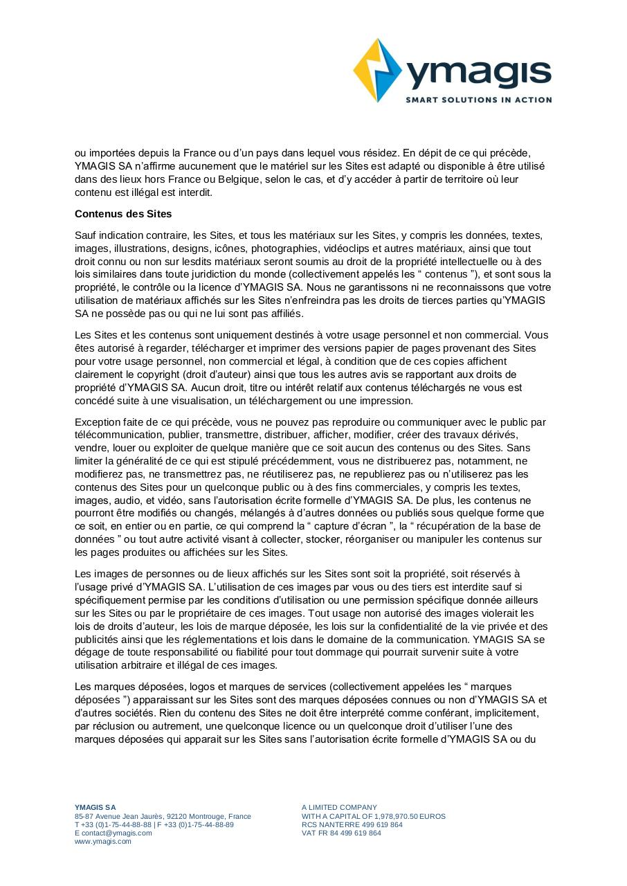 Aperçu du document CONDITIONS GÉNÉRALES D'UTILISATION_Terms of Use_FR.pdf - page 2/5