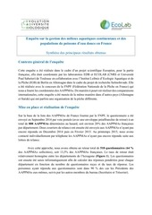 synthese resultats enquete aappma