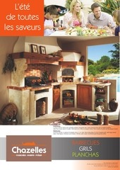 Fichier PDF catalogue chazelles barbecues